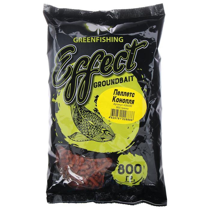 Пеллетс Greenfishing «Конопля» 800 гр