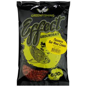 Пеллетс Greenfishing «BIG FISH Слива» 800 гр