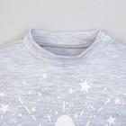 """Комплект Крошка Я: джемпер, брюки """"Звезда"""", серый/белый, р.30, рост 98-104 см 2645252 - фото 105470806"""