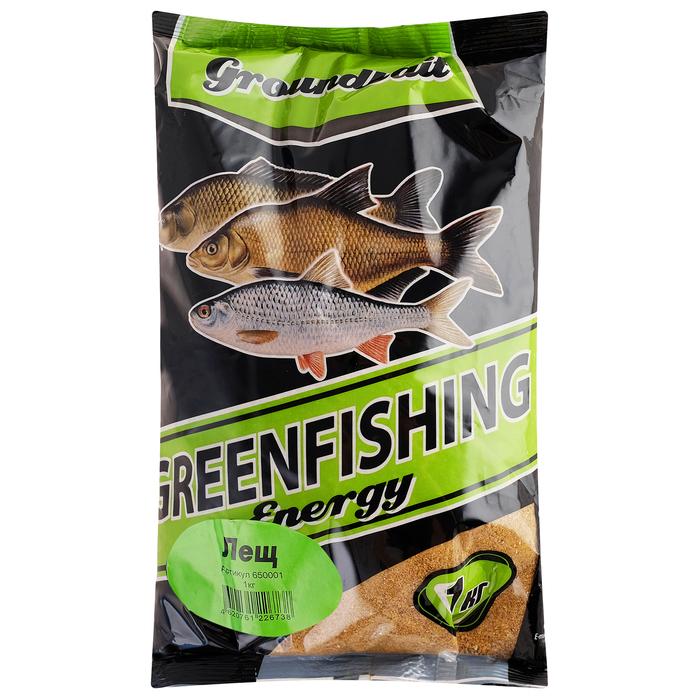 Прикормка Greenfishing ENERGI «Лещ» 1 кг