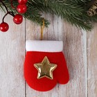 """Pendant """"mitten with a star"""""""