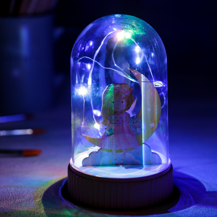 Светильник «Принцесса», с фигурками, 5 × 9 см