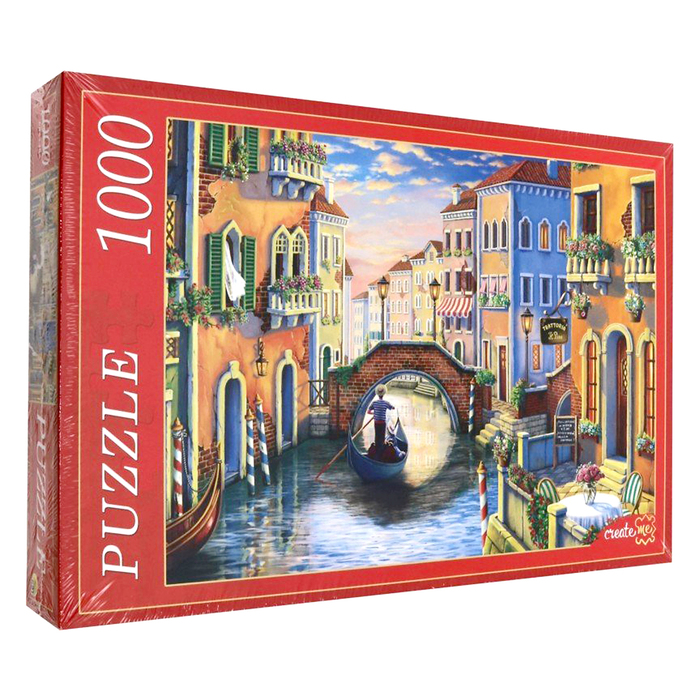 Пазл «Вечерняя Венеция», 1000 элементов