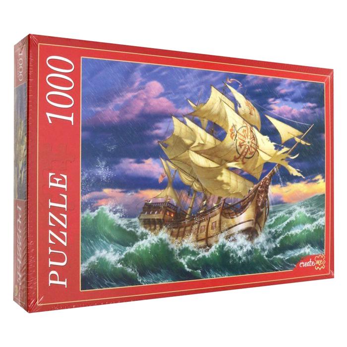 Пазл «Морская стихия», 1000 элементов