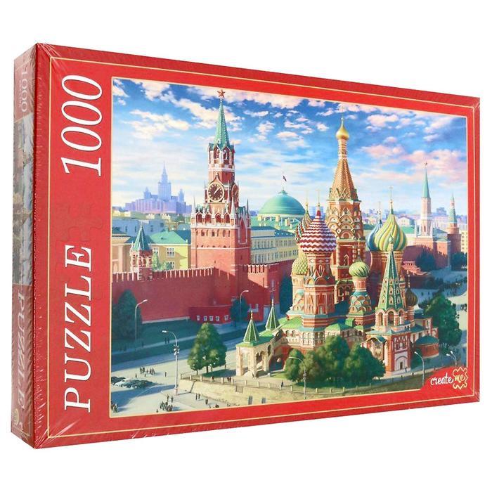 Пазл «Москва. Красная площадь», 1000 элементов