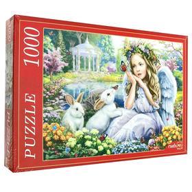Пазл «Ангел и кролики», 1000 элементов