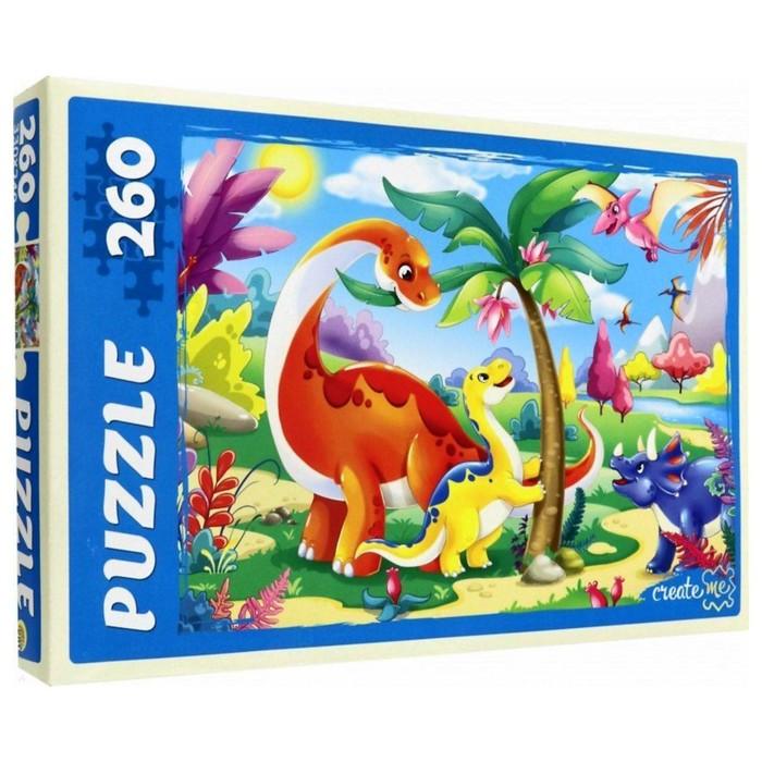 Пазл «Динозавры № 5», 260 элементов