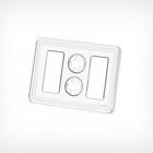 """Ценникодержатель-рамка """"Лего"""" формата А8, цвет прозрачный"""