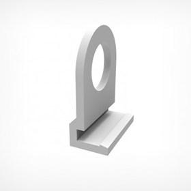 Петля для подвешивания пластикового профиля CLICKER HOOK, цвет белый