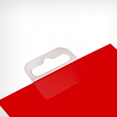 The hook-hanger, self-adhesive HANG TAB-4, color: transparent