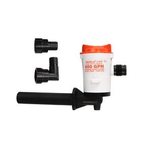 Помпа циркуляционная SeaFlo SFBP1-G800-05, электрическая, под патрубок 19мм, 12V