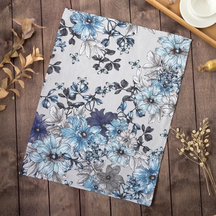 Полотенце Доляна «Нежность» 45×60 см, рогожка, 100% хлопок