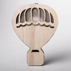 Светильник деревянный «Воздушный шар», 14.5 × 20 см 4066300
