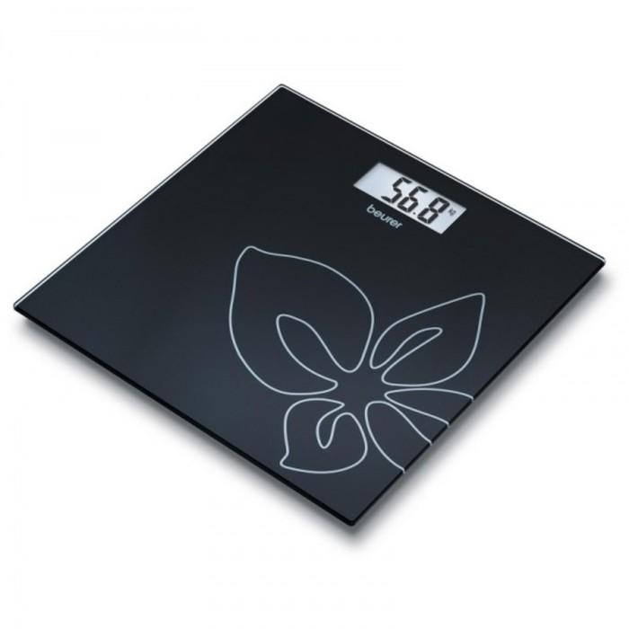 Весы напольные Beurer GS27, электронные, до 150 кг, black flower