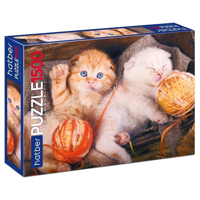 Пазл «Котиков много не бывает», 1500 элементов