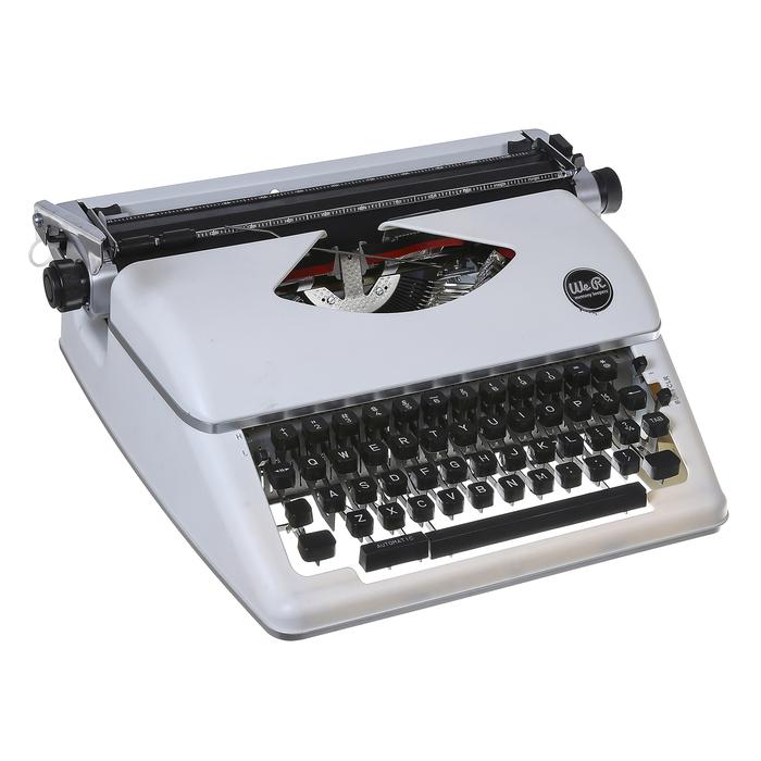 Печатная машинка « TYPEWRITER» - Цвет «WHITE» WRMK