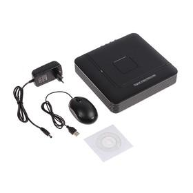 Видеорегистратор мультигибрид Proconnect, AHD-H/CVI/TVI/IP,1080 Р, 4 канала