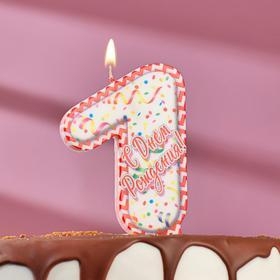 "Свеча для торта цифра ""7"", ГИГАНТ"
