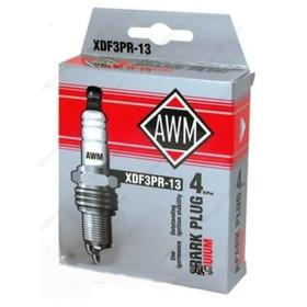 Свечи зажигания AWM, XDF3PR-13, иридий, набор 4 шт