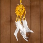 "Dreamcatcher ""Good mood"" yellow 0,5х6х25 cm"