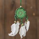 "Dreamcatcher ""Calm"" green 0,5х6х25 cm"