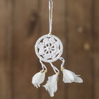 "Dreamcatcher ""Tenderness""white 0,5х6х25 cm"