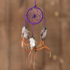 "Dreamcatcher ""Positive thinking"" purple 0,5х6х25 cm"