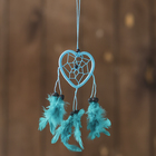 "Dreamcatcher ""Heart blue"" 0,5х7х25 cm"