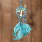 """Ловец снов """"Синее дерево"""" 0,5х7х25 см"""