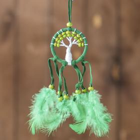 """Ловец снов """"Зеленое дерево"""" 0,5х7х25 см"""