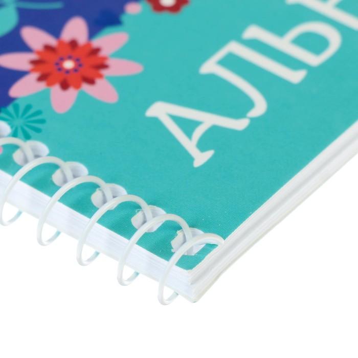 Альбом для рисования А4, 32 листа на гребне «Феи DISNEY», обложка мелованный картон, МИКС - фото 366918264