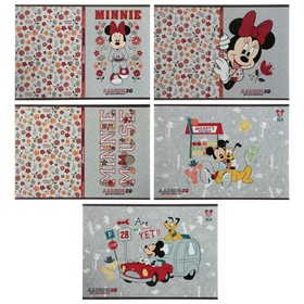 "Album for drawing A4, 20 sheets on a paper clip ""Mickey Mouse DISNEY"", cover coated cardboard, MIX"