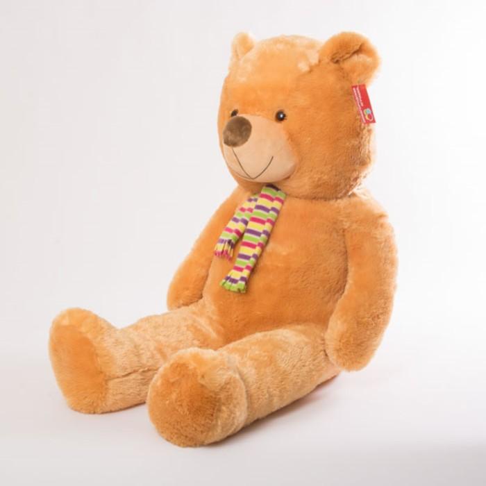 Мягкая игрушка «Медведь в шарфе», 100 см