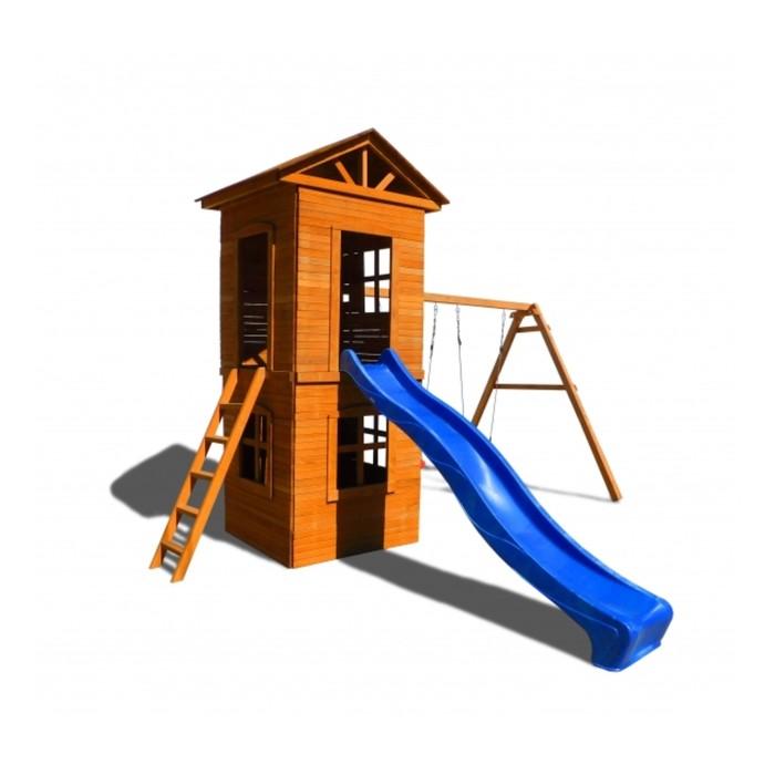 Детская площадка Можга Спортивный городок 8 c узкой лестницей