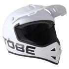 Шлем Tobe Vertex, размер M, чёрный, серый