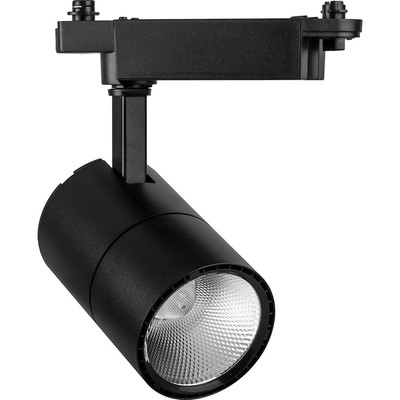 Светильник светодиодный на шинопровод AL103, 30W, 6400К, 35 градусов, цвет черный
