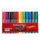 Фломастеры 24 цвета HOT WHEELS, европодвес