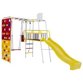 Детский спортивный комплекс уличный Street 3 Smile, цвет белый/радуга