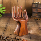 "Holder for business cards wood ""Palm""10х10х20 cm"