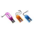 Картридер USB для Micro SD, МИКС