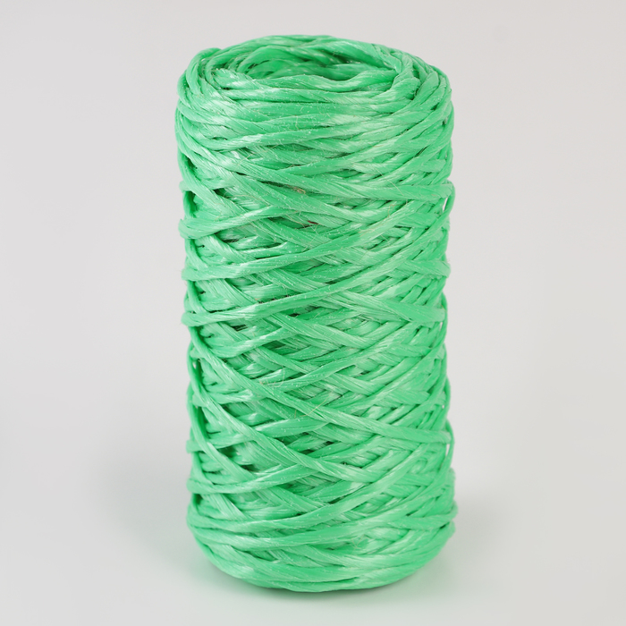 Шпагат ПП, d=1,6 мм, 60 м, цвет зелёный