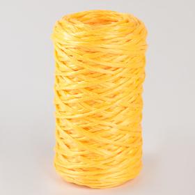 Шпагат ПП, d=1,6 мм, 60 м, цвет жёлтый