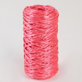 Шпагат ПП, d=1,6 мм, 60 м, цвет красный