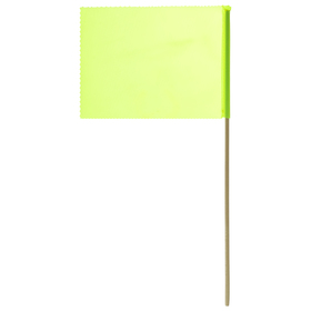 Флажок, длина 40 см, 15 × 20, цвет салатовый
