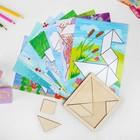 Танграм с набором карточек «Кроха» 8 карточек - фото 1027758
