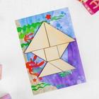 Танграм с набором карточек «Кроха» 8 карточек - фото 1027759