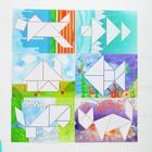 Танграм с набором карточек «Кроха» 8 карточек - фото 1027761