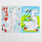 Танграм с набором карточек «Кроха» 8 карточек - фото 1027762