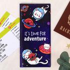 """Набор """"It's time for adventure"""", туристический конверт, обложка на паспорт, бирка на чемодан   40236 - фото 4638264"""