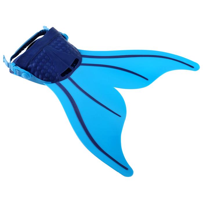 Плавники для обучения плаванию, цвет голубой